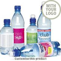 Promotional Water 500ml 00291160 - Customise with your brand, logo or promo text
