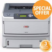 Oki B840DN Mono Laser Printer 01308001