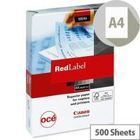 Canon Red Label Multifunctional A4 Paper 90gsm White 500 Sheets