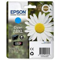 Epson 18XL Cyan Daisy Inkjet Cartridge High Capacity 6.6ml Cyan C13T18124010 C13T18124012