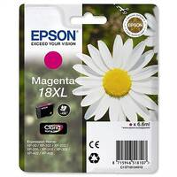 Epson 18XL Magenta Inkjet Cartridge Daisy High Capacity 6.6ml C13T18134010 C13T18134012