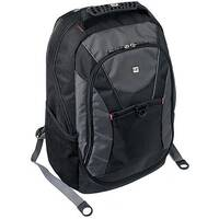 "Gino Ferrari Riva Laptop Backpack Nylon 16"" Black GF508"