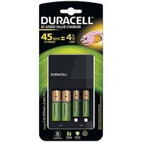 Duracell 45 Minute Battery Charger Hi Speed for NiMH AA/AAA LED Charge Status Indicator Ref 81528873