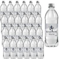 Radnor Sparkling Mineral Water Drink Bottles 500ml Pack of 24