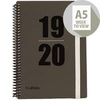 Collins 2019/20 Academic Diary Week-to-View A5 Ref FP53M 2020