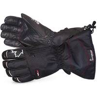 Superior Glove Snowforce Buffalo Leather Palm Winter Glove M Black Ref SUSNOW385M