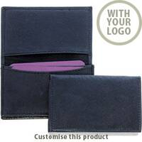 Leather Business Card Dispenser 166834 - Customise with your brand, logo or promo text