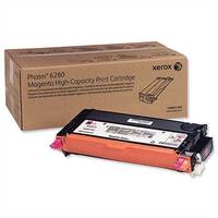 Xerox Laser Toner Cartridge High Yield Page Life 5900 Magenta Ref 106R01393