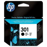 HP 301 Black Ink Cartridge – 3ml Capacity, Approx 190 Page Yield, Compatible With HP Deskjet Printers, Eco-Friendly &Fade and Water Resistant (CH561EE)