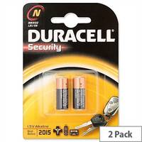 Duracell MN9100N/N Batteries Alkaline for Camera Calculator or Pager 1.5V Pack 2