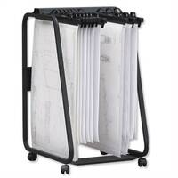 Arnos Hang-A-Plan General Front Load Trolley for Approx 20 Binders A1-A2-B1 W555xD730xH990mm D061
