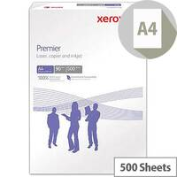 Xerox Premier Multifunctional Printer Paper A4 90gsm White 500 Sheets