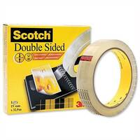 Scotch Double Sided Tape Permanent Long-life 19mm x 32.9m Clear