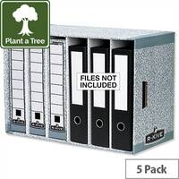 Bankers Box System File Store Module Grey Pack 5