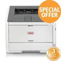 OKI B432DN A4 Mono Laser Printer Network Ready Duplex
