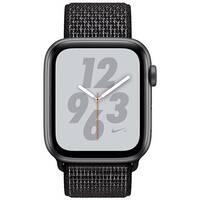 Apple Watch Nike+ Series 4 (GPS + Cellular) - space grey aluminium - smart watch with Nike sport loop - black - 16 GB