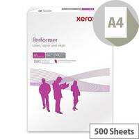 Xerox Performer Multifunctional Printer Paper Ream-Wrapped 80gsm A4 White Ref 003R90649 [500 Sheets]