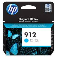 HP 912 - 2.93 ml - cyan - original - ink cartridge - for Officejet 8012, 8014, 8015; Officejet Pro 8022, 8024, 8025, 8035
