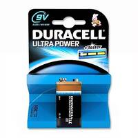 Duracell Ultra Power 9V Alkaline Batteries Pack 1 75051968