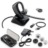 Plantronics B235 Voyager Legend UC Bluetooth Headset (In the box: Headset, Case, Base, USB Dongle, USB Cable, AC Adapter, Spare Ear-Tips) 87670-02