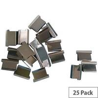 5 Star Office Ultra Clip 60 Refills Stainless Steel  Box of 25