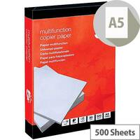 5 Star Multifunctional Printer Paper A5 80gsm White 500 Sheets