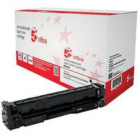 5 Star Office Remanufactured HP CF400A 201A Black Yield 1,500 Pages Laser Toner Cartridge