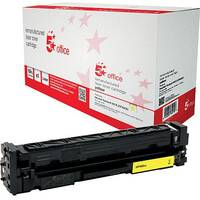 5 Star Office Remanufactured Laser Toner Cartridge Page Life 2300pp Yellow HP 201X CF402X Alternative