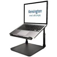 "Kensington SmartFit Laptop Riser – Black, For Laptops Up To 15.6"", Anti-Skid, Height Adjustable, Cable Management, Security Spot &Extra Space (K52783WW)"