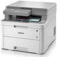 Brother DCP-L3510CDW LED Printer A4 18ppm Wi-Fi Multifunctional 2400 x 600dpi, 250 sheets, A4, Grey