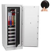 Phoenix Data Commander DS4622F Size 2 Data Safe with Fingerprint Lock White 228L 120min Fire Protection