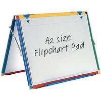 Show-me Flipchart Pad A2 Plain Pack of 5 FPPA2/5