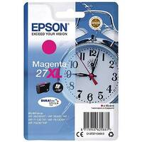 Epson Alarm Clock 27XL Magenta High Yield Inkjet Cartridge (Pack of 1) C13T27134010 C13T27134012