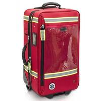 Emergency Respiratory Trauma Trolley Bag Capacity 35 x 60 x 29 cm Red