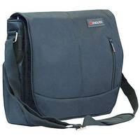 "Monolith Motion II Courier Messenger Laptop Bag 15.6"" Black"