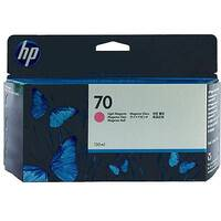 Hewlett Packard HP 70 Inkjet Cartridge 130ml Light Magenta C9455A