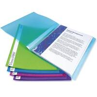 Rapesco Display Book 10 Pocket Assorted Pack of 10