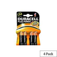 Duracell Multipurpose Battery AA Alkaline 4 Pack