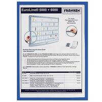 Franken Magnetic Document Holder ValueLine A3 Blue ITSA3M 03