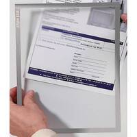 Franken Magnetic Document Holder ValueLine A3 Grey ITSA3M 12