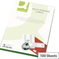 Q-Connect Multi-Purpose White Labels 99.1x67.7mm (800 Labels)