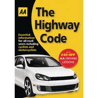 AA The Highway Code Book AA Driving Test 9780749552572