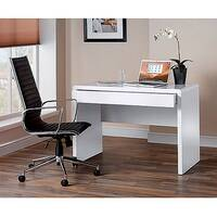 Luxor Workstation White Gloss LUXWS-KW White 764x1100x590