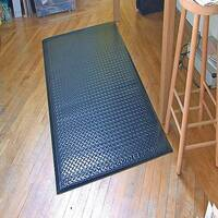 Millennium Mat Soft Step Supreme Floor Mat Black 610 x 910mm 24020306BLK