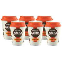 Nescafe Azera To Go Cappuccino Cups and Lids Pack of 6 12347873