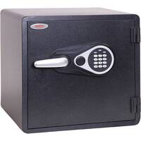 Phoenix Titan Aqua FS1292E 35L Waterproof, Fireproof Theft Security Safe With Electronic Lock Black