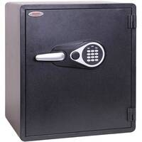 Phoenix Titan Aqua FS1293E 60L Waterproof, Fireproof Theft Security Safe With Electronic Lock Black