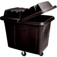 Rubbermaid Lid for 4612 Cube Truck &4712 Heavy Duty Utility Truck Black