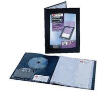Rexel Clearview Display Book A5 24-Pocket Black 10410BK