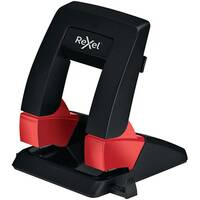 Rexel Supreme Low Force SP30 Hole Punch Black/Red 2115682